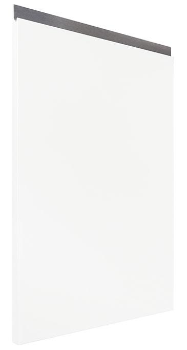 Finger-Pull Supermatt Blanco Perfil acero