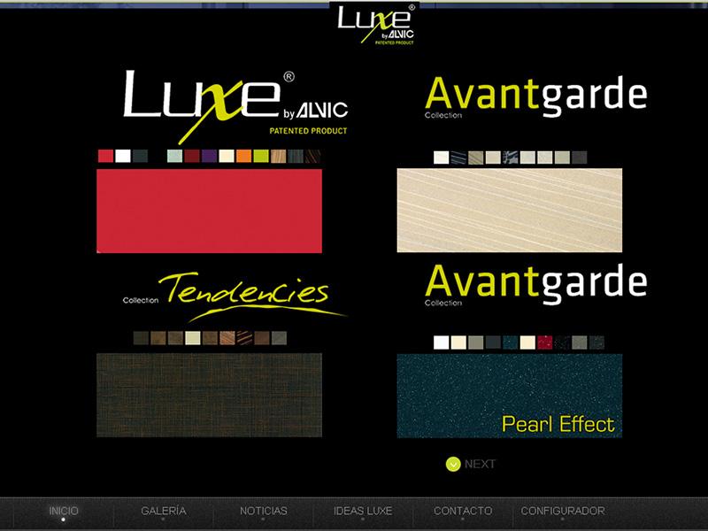 nueva web de Luxe