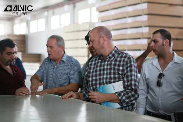 Grupo alvic visita turcos