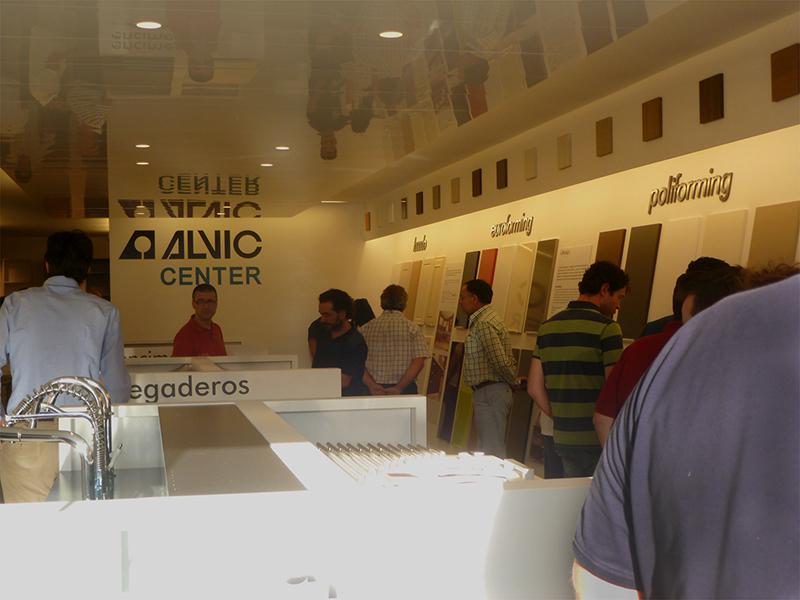 Alvic Center. Grupo Alvic